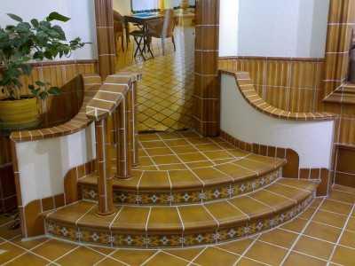 Клинкерные ступени для облицовки лестниц
