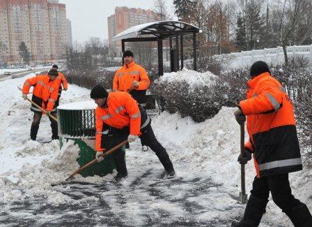 В Столице снег убирают лучше, чем в Европе