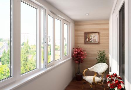Остекление балкона и его отделка: этапы работ