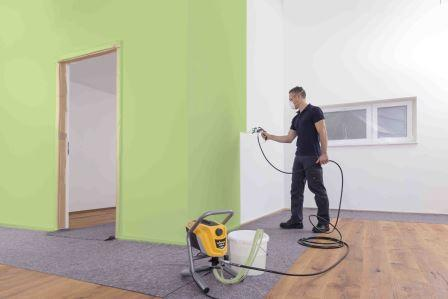 Метод безвоздушного нанесения краски: плюсы и минусы